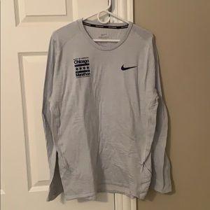 Nike Chicago marathon running thermal shirt